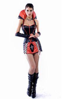 Vinyl Vampire Costume