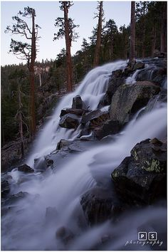 Eagle Falls, Emerald Bay and Lake Tahoe; Not too far from our house. Beautiful!