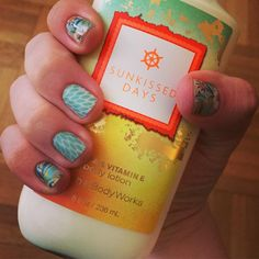 Summer ready once again! In love with this combo! #ZenGardenJN #LotusJN #floral #summer #jamanicuremonday #jamanicure #jamberry #manimonday #manicure #nails #nailart #style #fashion #beauty #bathandbodyworks #sunkisseddays