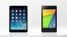Gizmag compares the features and specs of the iPad mini with Retina Display and 2013 Nexus...