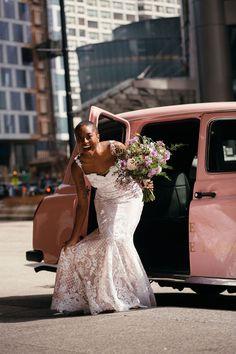 Spring Wedding, Boho Wedding, Wedding Gowns, Bridal Gowns, Dream Wedding, Purple Wedding, Wedding Bouquet, Wedding Things, Wedding Events