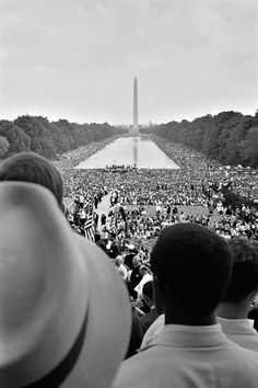 "On August 28, 1963, 200,000 people participate in a peaceful civil rights rally in Washington, D.C., where Dr. Martin Luther King Jr. delivers his ""I Have a Dream"" speech in front of the Lincoln Memorial."