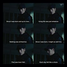 But, Now Things Are Starting To Get Exciting I Cant Help It, I Can Relate, Healer Kdrama, Kim Moon, Ji Chang Wook Healer, Korean Drama Quotes, Kdrama Memes, Park Min Young, Oh My Love