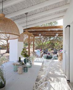 Porches, Outdoor Rooms, Outdoor Gardens, Outdoor Living, Charming House, Southern Homes, Cozy House, Santa Fe, Pergola