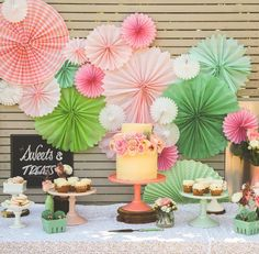 #desserttablescape A Blooming Brilliant Wedding in Terrigal