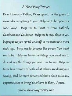 I love that prayer
