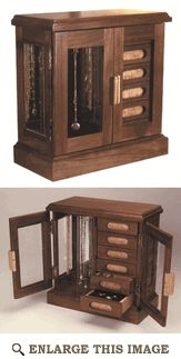 Jewelry Box Woodworking Plan from WOOD Magazine - DIY Woodworking Projects - Woodworking Projects Diy, Woodworking Wood, Diy Wood Projects, Woodworking Machinery, Woodworking Forum, Youtube Woodworking, Woodworking Equipment, Woodworking Basics, Woodworking Workshop