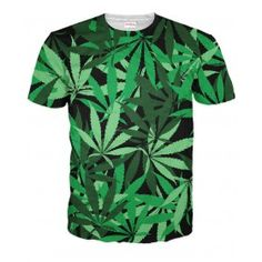 Weed Camouflage T-Shirt