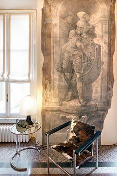classical modern man... L'interior design s'è fatto rivista...