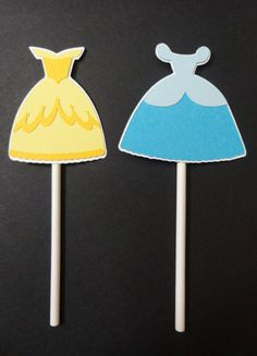 Disney Princess Cupcake Toppers by HeartmadebyHeather on Etsy
