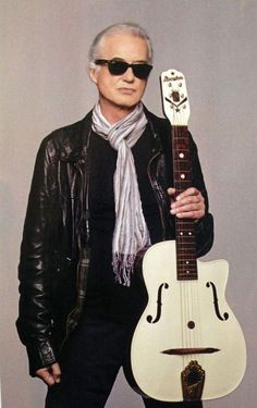 """""""PHOTO: Jimmy Page photographed for the new issue of Guitar World magazine by Ross Halfin"""""""