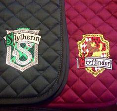 Harry Potter Crest Embroidered Saddle Pad