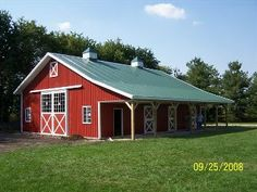 Post Frame Horse Barns, Stables & Equestrian Buildings
