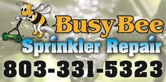 sprinkler system repair, columbia south carolina