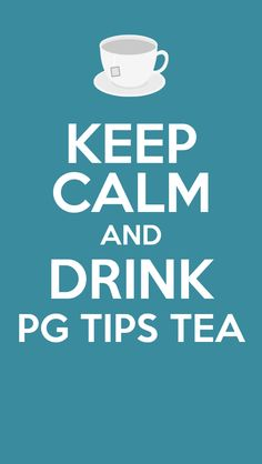 A true brit cannot get through day without pg tips!!