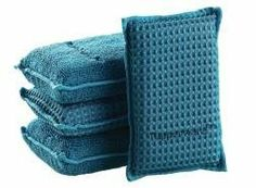 Microfiber Sponge Set By Tupperware by Tupperware. $11.75. These unique sponges are versatile enough to provide you with two cleaning options. On the one hand, the sponge's special waffle fabric is durable enough for scrubbing pots and pans. Yet, their soft bristle weave is gentle enough for use washing your car or cleaning a countertop.