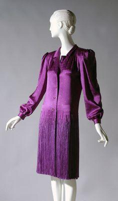 Dress James Galanos, 1980 The Philadelphia Museum of Art