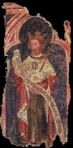 Carlos IV, do século XIV, Sacro Imperador de Roma e rei da Bohemia da Casa de Luxemburgo. // Karl IV. (HRR) ◆Luxemburgo – Wikipédia http://pt.wikipedia.org/wiki/Luxemburgo #Luxembourg