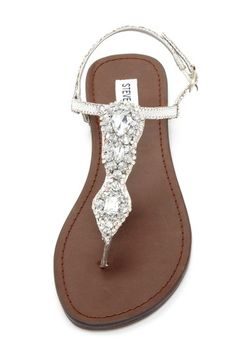 Glori Sandal. Because Weston and I are about the same height without me wearing high heels