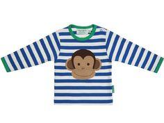 Toby Tiger Langarm T-Shirt mit Affe