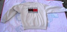 Vtg Tommy Hilfiger sweatshirt / Big Logo / by FoxVintageClothing