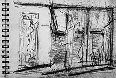 Mark Rothko, sketchbook drawing, mid-1930s, National Gallery of Art, Gift of The Mark Rothko Foundation, Inc.