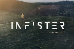 Infister Type by vuuuds on @creativemarket