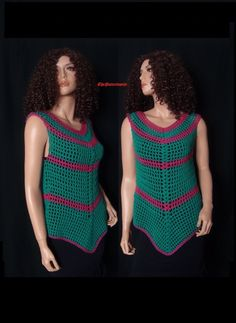How to Crochet a Summer Top Pattern #29│by ThePatterfamily
