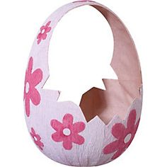 Paper-source Pink Egg Easter Basket...only $3.95. So cute!