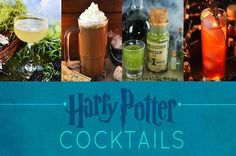 8 Magical And Delicious Harry Potter Cocktails (fun drinks ginger beer) Décoration Harry Potter, Harry Potter Halloween, Harry Potter Christmas, Harry Potter Birthday, Mixed Drinks, Fun Drinks, Beverages, Yummy Drinks, Harry Potter Cocktails