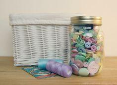 Button Kilner Jar | 7 Fabulous Kilner Jar Ideas