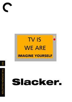 Slacker (1991) ~ Minimal Movie Poster by Film Visuality #amusementphile