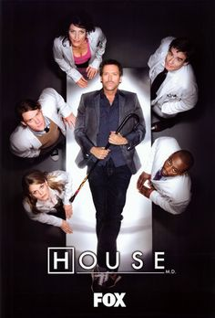 A gallery of House M. publicity stills and other photos. Featuring Hugh Laurie, Jesse Spencer, Omar Epps, Lisa Edelstein and others. Hugh Laurie, Gregory House, House Md, Jennifer Morrison, Doctor House Frases, Best Tv Shows, Favorite Tv Shows, Top 10 Tv Series, Omar Epps