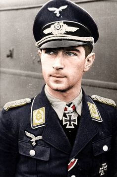✠ Werner Mölders - 101 victories (March, 18th 1913 - November, 22th 1941) + 14 victories in Spain. Awards : Knight's Cross with Oak Leaves, Swords and Diamonds.