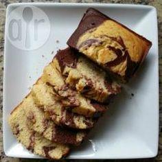 Bolo mesclado de liquidificador @ allrecipes.com.br - O bolo mesclado ou mármore é um dos meus favoritos... e essa receita é bem fácil.