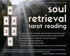 Soul Retrieval Tarot Reading (digital file: PDF, JPG - you print) Tarot Card Spreads, Tarot Cards, Tarot Card Layouts, Reiki, Chakra, Tarot Astrology, Meditation, Oracle Tarot, Tarot Card Meanings