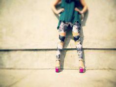 www.devynmarie.storenvy.com galaxy leggings