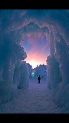 Galleria di ghiaccio