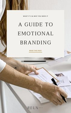 A guide to emotional branding: what it is, plus how you can use it to design a brand and website that catches attention and books more clients. Social Media Branding, Branding Your Business, Business Marketing, Creative Business, Content Marketing, Business Tips, Corporate Branding, Branding Ideas, Personal Branding Strategy