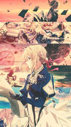 violet evergarden - Anime New Photos Wallpaper Animes, Cute Anime Wallpaper, Animes Wallpapers, Lines Wallpaper, Bold Wallpaper, Drawing Wallpaper, Minimalist Wallpaper, Fashion Wallpaper, Beautiful Wallpaper