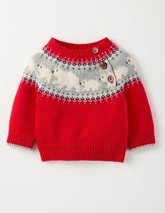 Knitting for kids cardigans fair isles 38 Trendy ideas Crochet Pullover Pattern, Crochet Baby Cardigan, Sweater Knitting Patterns, Knit Crochet, Baby Sweaters, Winter Sweaters, Holiday Sweater, Baby Christmas Jumper, Christmas Holiday