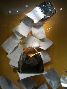 Louis Vuitton papers windows Spring 2013, Jakarta »  Retail Design Blog retaildesignblog.net