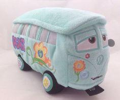 Disney Cars Fillmore Plus VW Bus Collectible London #ebay