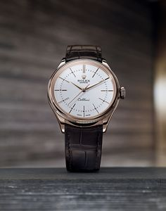 The Rolex Cellini Time pays tribute to the timeless codes of classic watchmaking. Discover more about its features on the Official Rolex Website.