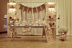 Treat wedding guests with candy from their childhoods. Glenda from Dressy Designs created this nostalgia inducing candy buffet for a vintage-themed wedding with old-fashioned favorites such as wax bottles, taffy, rock candy, and candy buttons.  Posted from Sweet Designs blog http://blog.amyatlas.com/.