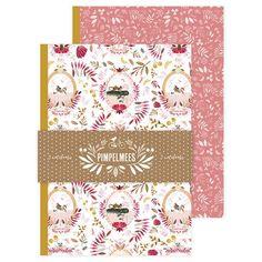 Notebooks Medium Pimpelmees - Set 2