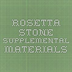Rosetta Stone Supplemental Materials: Download free worksheets and tests (with answers) that correspond with their language levels.