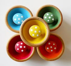 Natural Wooden Sorting Toy Sorting Game by 2HeartsDesire on Etsy, $19.99