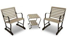 Vintage 3-Piece Seating Set