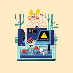 Tiny Laboratory, Andrew Kolb